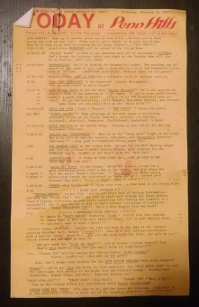 Itinerary from 1987