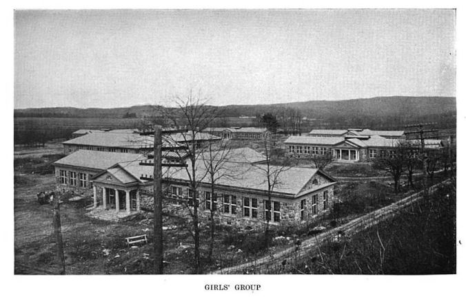 The girls' campus, 1922