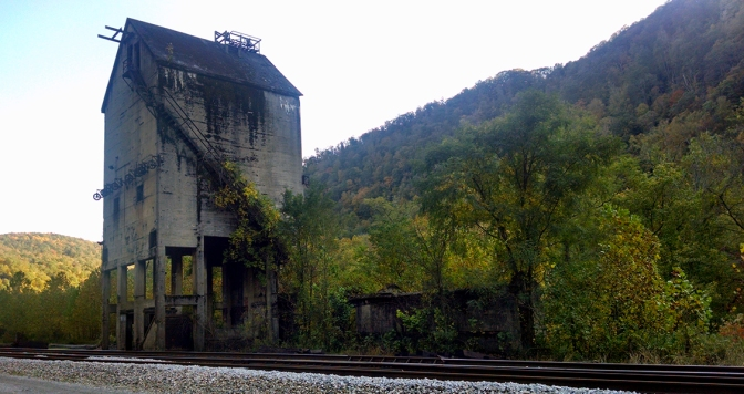The C&O coaling tower & sand house.