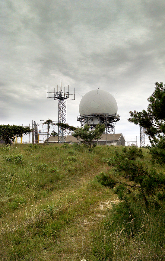 Radar station (aka spy tower) still in use by the FAA today. Wave to Big Brother everyone!