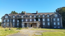 And Harrison Hall as it stands today.